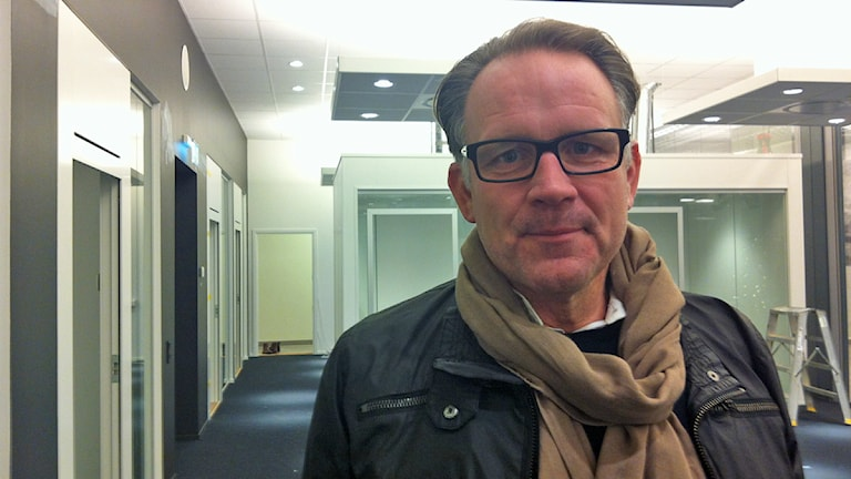 Patrik Olderius, Destination Jönköping. Foto: Maria Franzén/Sveriges Radio