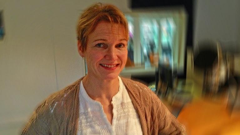 konsumentrådgivare Annika Wilow Sundh. Foto: Kajsa Hallberg/Sveriges Radio