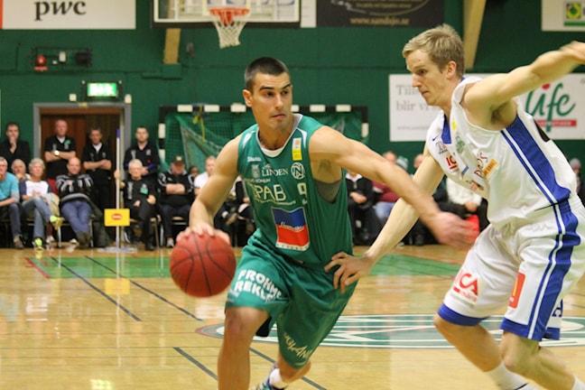 Aleksa Solevic var briljant matchen igenom. Foto: Tommy Haag P4 Jönköping