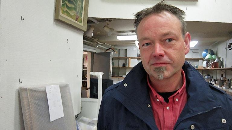 Jeppe Jernström. Foto: Oskar Mattisson / Sveriges Radio