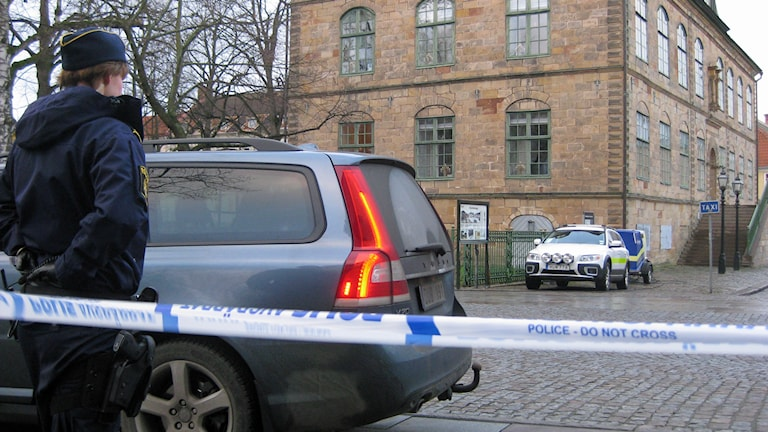 Bombhot Hovrätten. Foto: Dan Segerson / Sveriges Radio