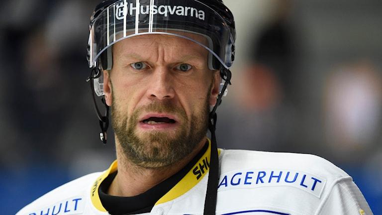 Jere Karalahti, HV71. Arkivbild, foto: Mikael Fritzon/TT