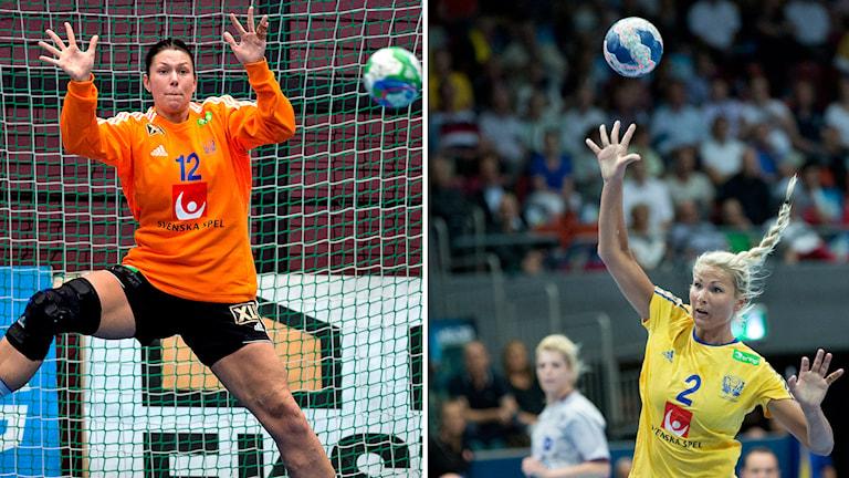 Filippa Idéhn och Ulrika Ågran. Foton: Adam Ihse/TT samt Björn Larsson Rosvall/TT