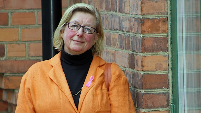 Maria Eibler. Foto: Hasse Pettersson/Sveriges Radio