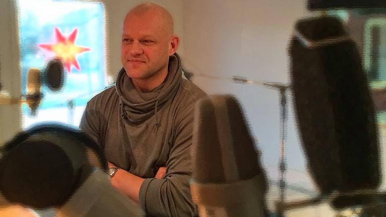 Andreas Johansson, HV71. Foto: David Westh/Sveriges Radio
