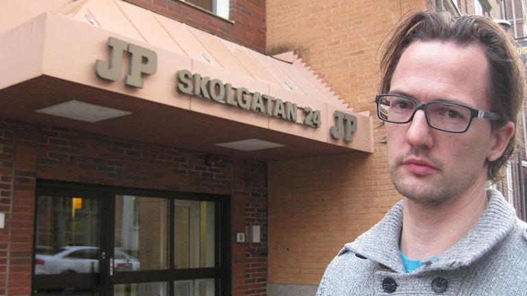 Dan Sylvebo, politisk redaktör på Jönköpings-Posten