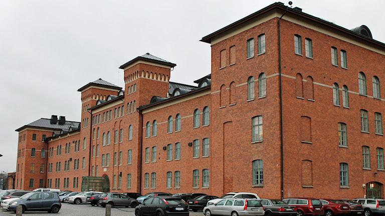 Kasernbyggnaden A6. Foto: David Westh/Sveriges Radio