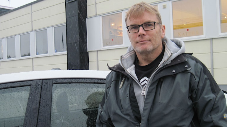 Fältsekreterare Kennet Carlsson. Foto: Karin Malmsten/Sveriges Radio.