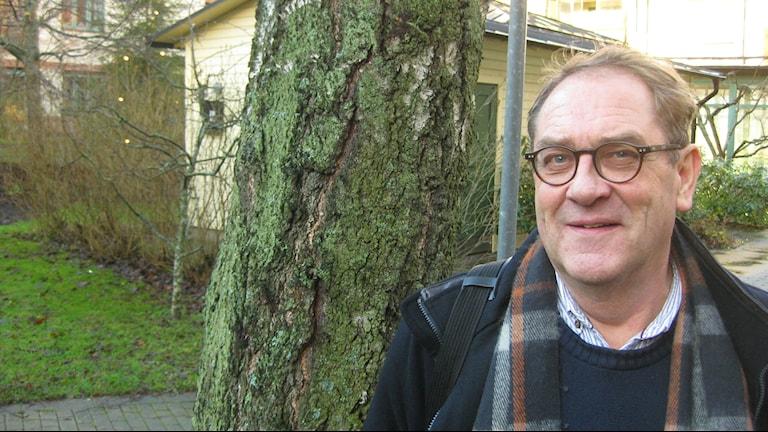 Kew Nordqvist (MP), från Tranås kräver omförhandling av flyktingpolitiken om fler Allianspartier går KD:S väg. Foto: Dan Segerson / SR