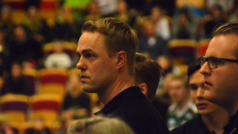 Mikael Hill, tränare i Mullsjö. Foto: Henrik Gustavsson/Sverigesradio