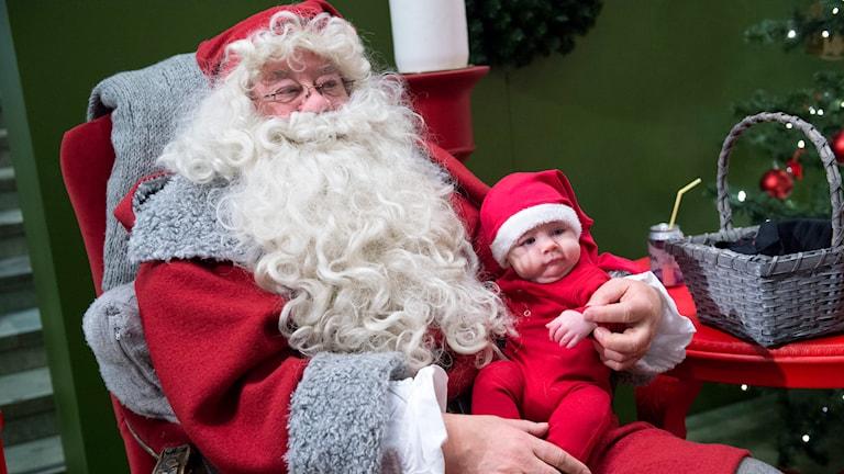 Jultomte.  Foto Bertil Enevåg Ericson /TT