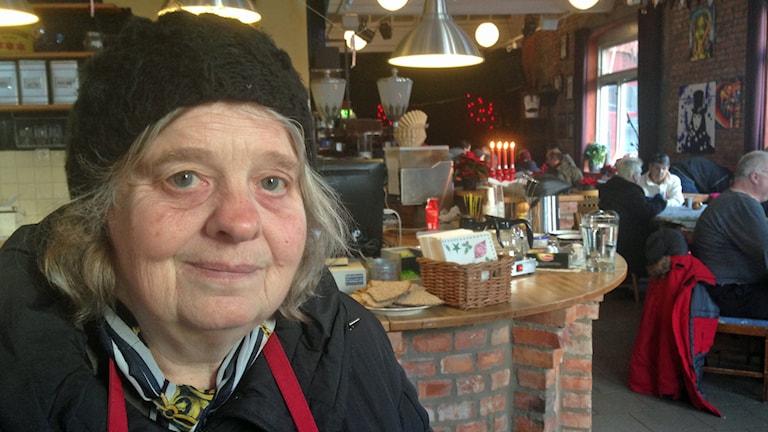 Gerd Claesson. Foto: Jessica Sonelius/Sveriges Radio