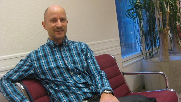 Hans Dahlberg, personalchef vid länssjukhuset Ryhov. Foto: Peter Jernberg/Sveriges Radio.