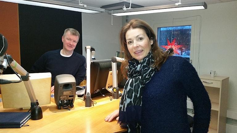 Renata Chlumska. Foto: Therese Edin/Sveriges Radio.