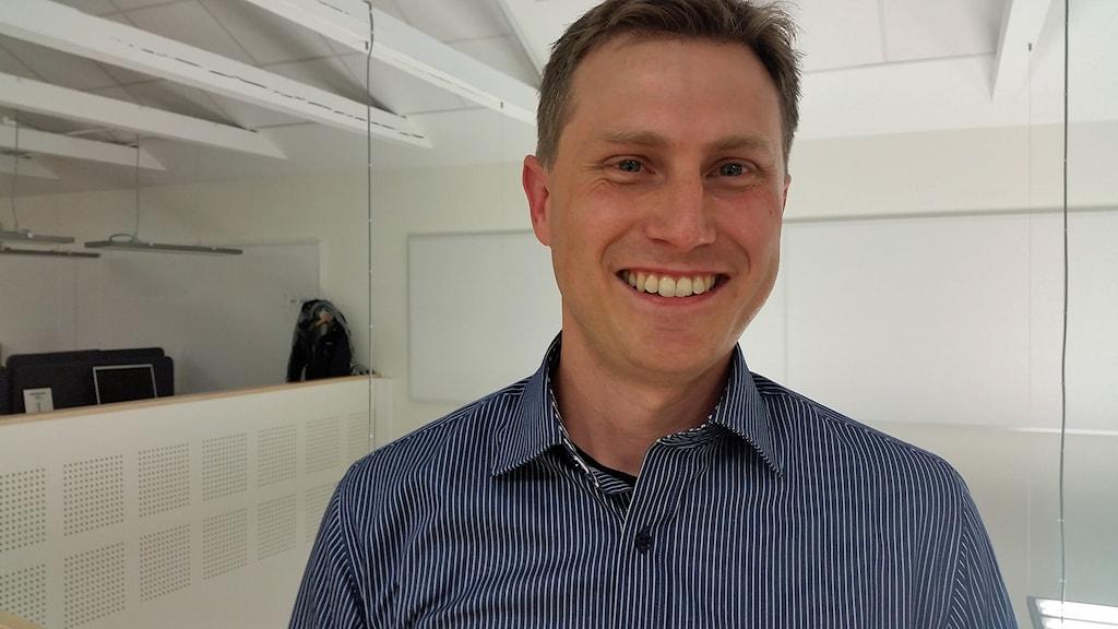 Gregory Golding. Foto: Elin Ericsson/Sveriges Radio