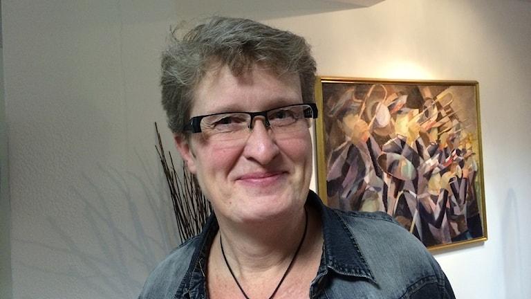 Karin Hultberg. Foto: David Westh/Sveriges Radio.