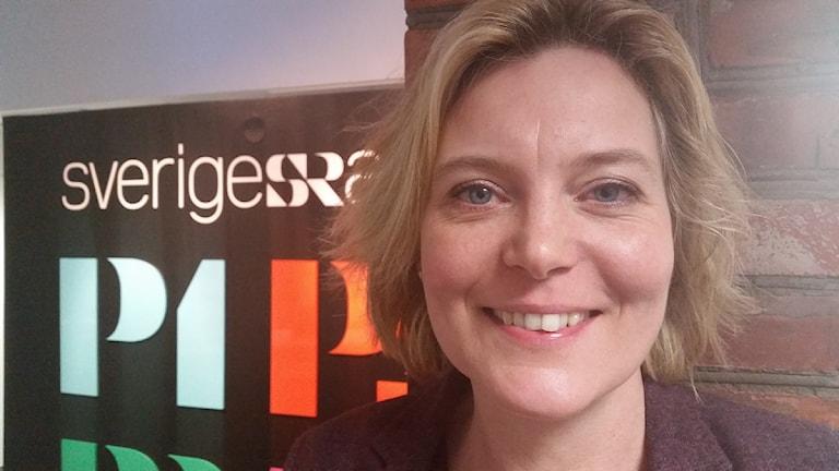 Ulrika Geeraedts, utvecklingsdirektör Region Jönköpings län. Foto: Therese Edin/Sveriges Radio.