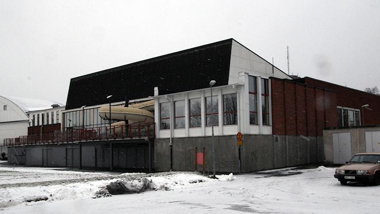 Nässjö simhall. Foto:Paul Zyra/ Sveriges Radio