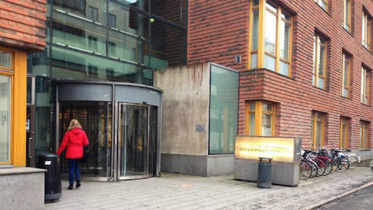 Högskolan för lärande och kommunikation i Jönköping. Foto: Lisa Lysell/Sveriges Radio
