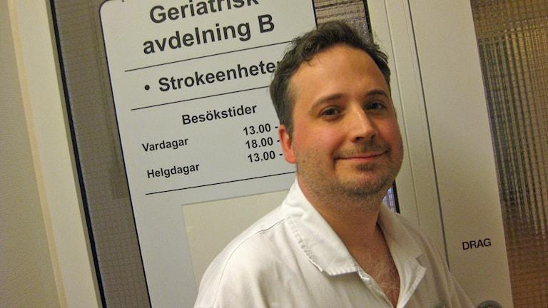 Daniel Florin. Foto: Peter Jernberg/Sveriges Radio
