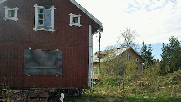 Öde hus i Mullsjö. Foto: David Westh/Sveriges Radio