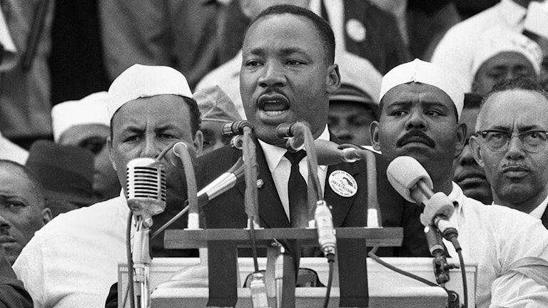 Martin Luther King. Foto: AP/TT