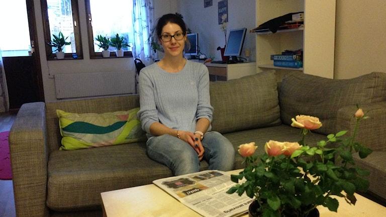 Julia Jönsson verksamhetschef Bryggan Värnamo. Foto: Karin Malmsten/Sveriges Radio