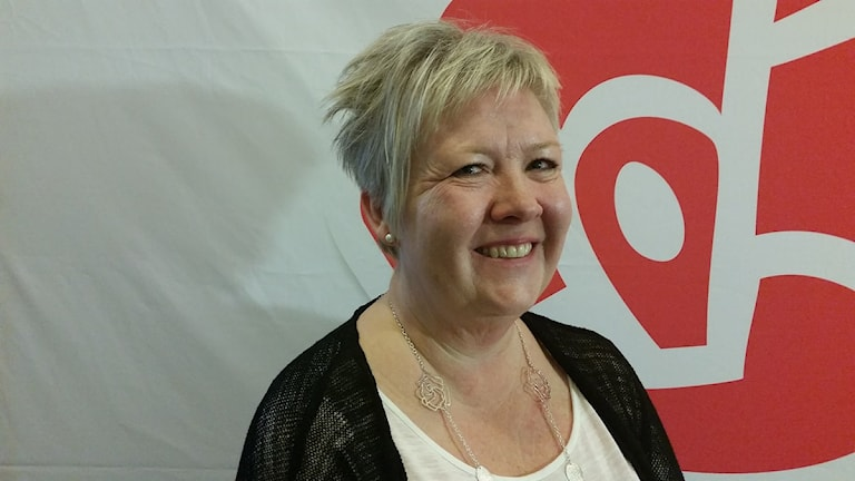Mona Forsberg (S). Foto: Therese Edin/Sveriges Radio.