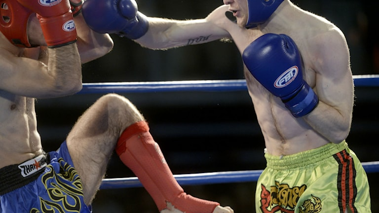 Thaiboxning. Foto: Fredrik Sandberg/TT.