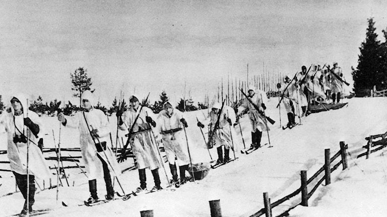 Finska soldater. Foto: TT