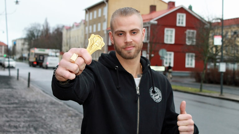 Erik Berglund. Foto: David Westh/Sveriges Radio
