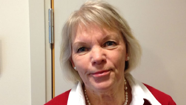 Gunilla Nilsson, forskare på Hälsohögskolan i Jönköping. Foto: Kjell Ahlkvist/Sveriges Radio.