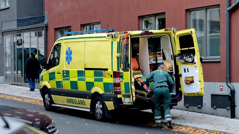 Ambulans. Arkivbild, foto: Pontus Lundahl/TT