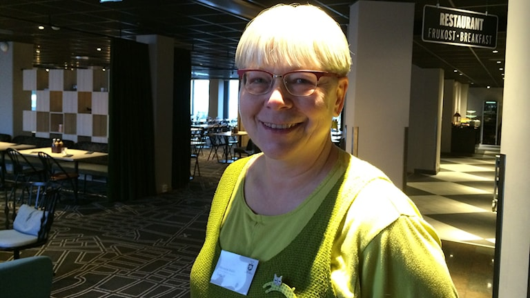 Marianne Wallin. Foto: Maria Franzén/Sveriges Radio.