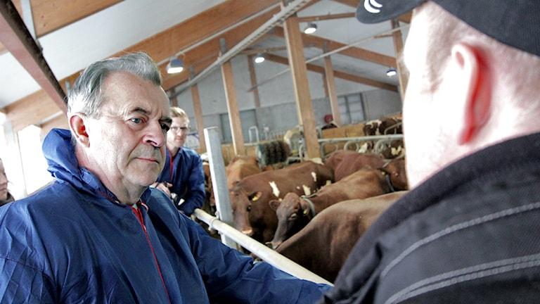 Landsbygdsminister Kor Ladugård lagård