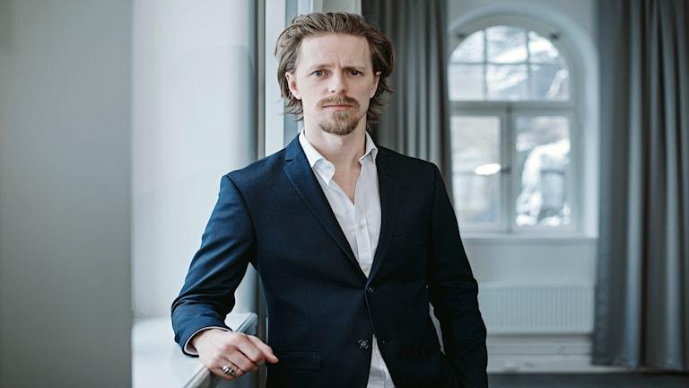 Fredrik Wagner. Foto: Joakim Eriksson.
