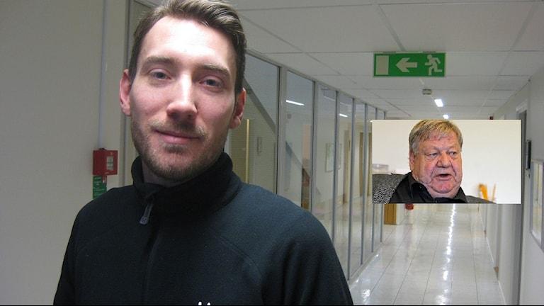 Mikael Ekvall och Håkan Jansson. Arkivbilder.