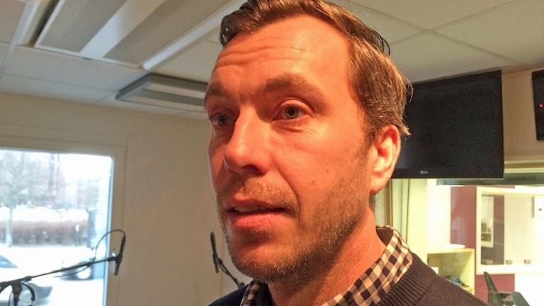 Johan Hult. Foto: David Westh/Sveriges Radio