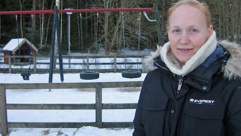 Carola Gustavsson. Foto: Dan Segerson/Sveriges Radio