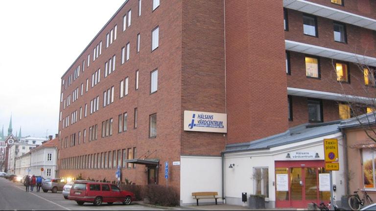 Hälsans vårdcentral i Jönköping. Foto: Peter Jernberg/Sveriges Radio.