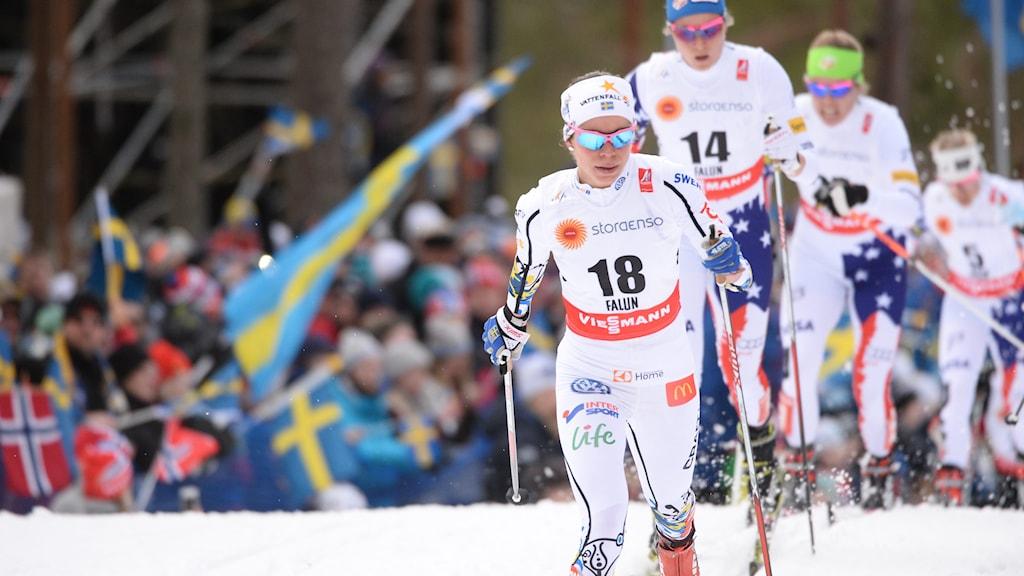Maria Rydqvist. Foto: Fredrik Sandberg/TT
