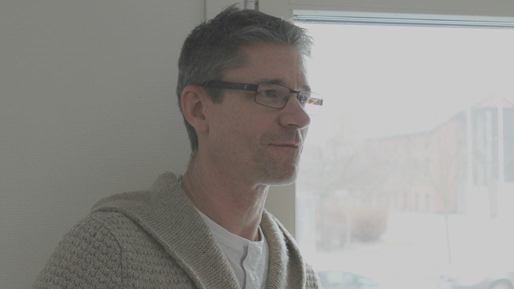 Fredrik Ekdala. Foto: David Westh/Sveriges Radio