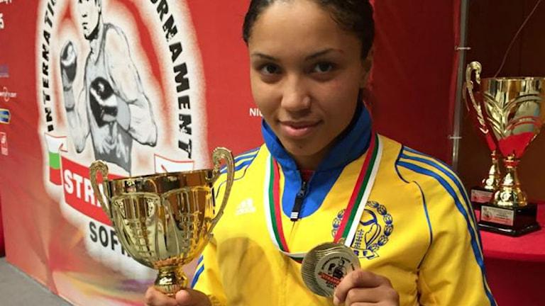 Agnes Alexiusson, foto: Svenska Boxningsförbundet