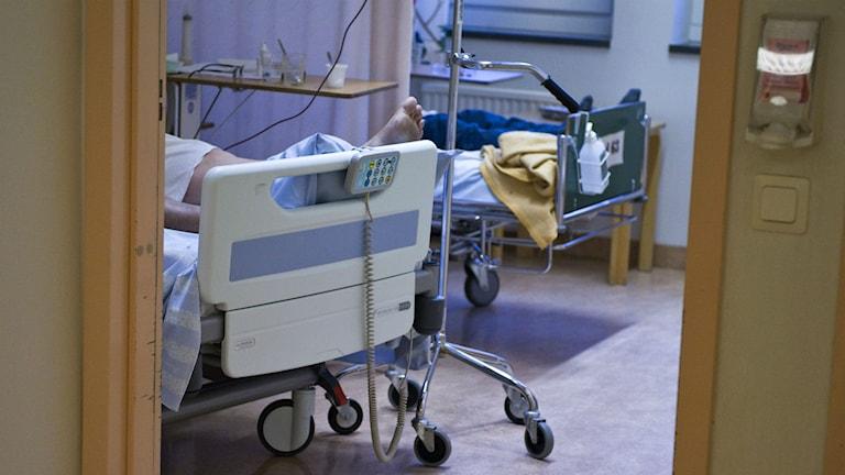Patient på sjukhus. Foto: Bertil Ericson/Scanpix.