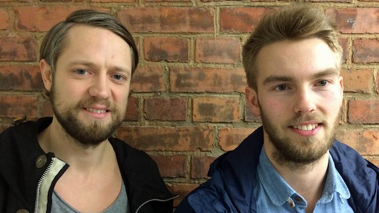 David Gillek och Kasper Hedlund gjorde varsitt mål i matchen. Foto/Arkivbild: David Westh/Sveriges Radio