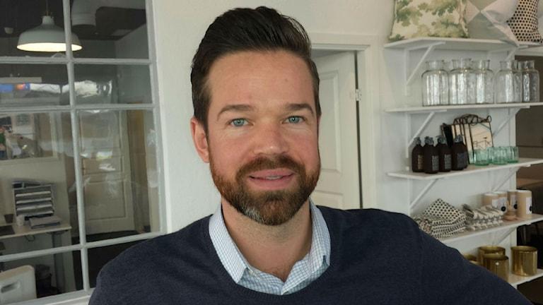 Johan Marklund, mäklare.