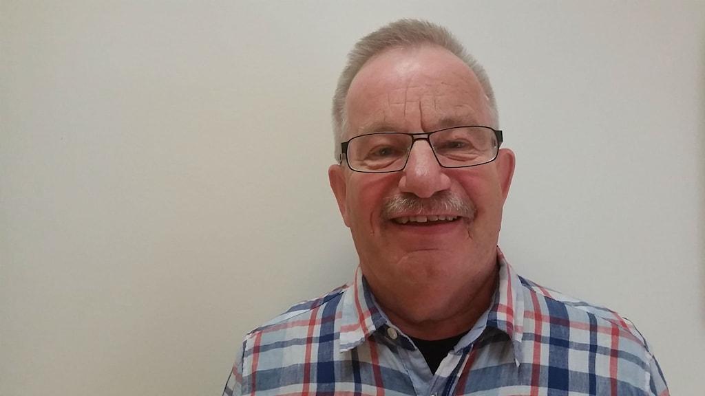 Kjell Olsson, engagerad i Kyrkhjälpen i Jönköping. Foto: Therese Edin/Sveriges Radio