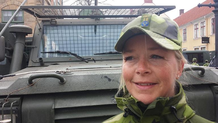 Maddelena Lago, informatör Försvarsmakten i Eksjö