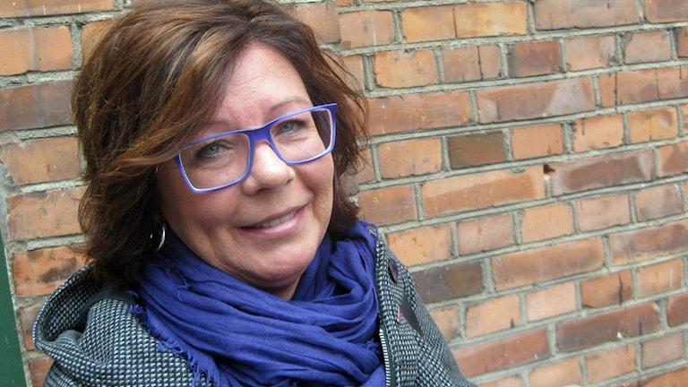 Cecilia Ljungqvist, Kommunal. Foto: Peter Jernberg/Sveriges Radio