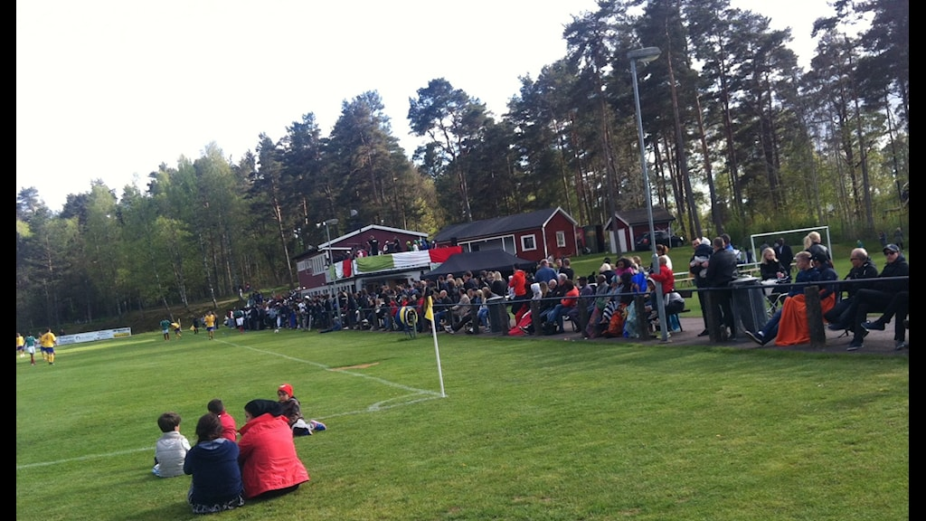 Somaliland won 1-0. Photo: Alexandra Svedberg/Sveriges Radio.